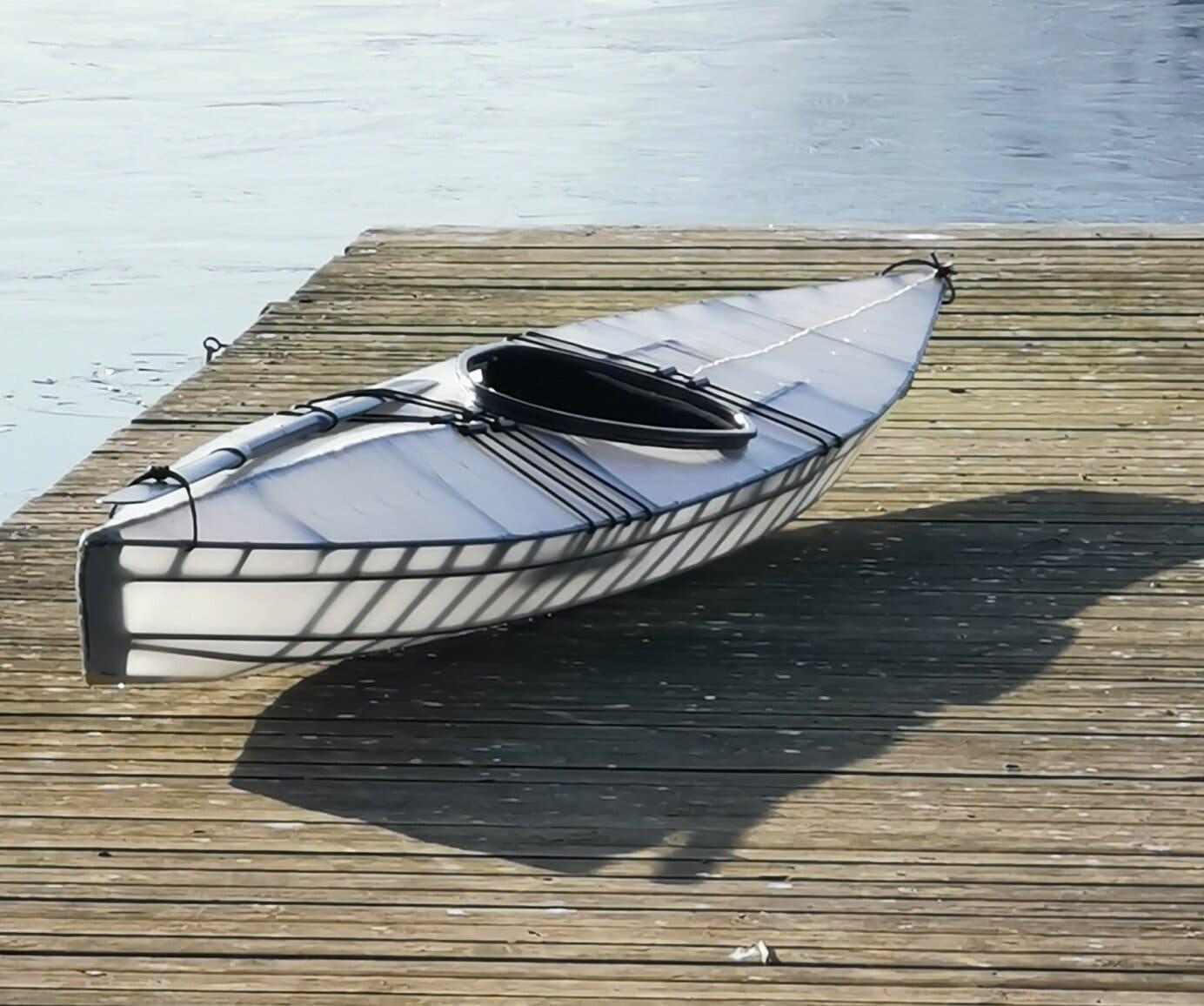 Carbon fiber F1 kayak