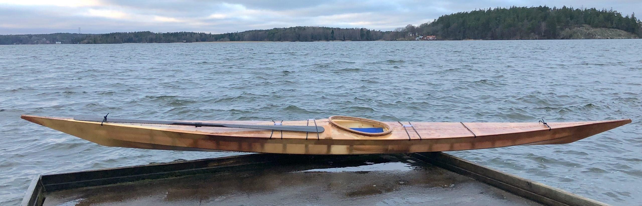 Tibor's West Greenland Kayak